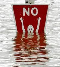 flood sign pic