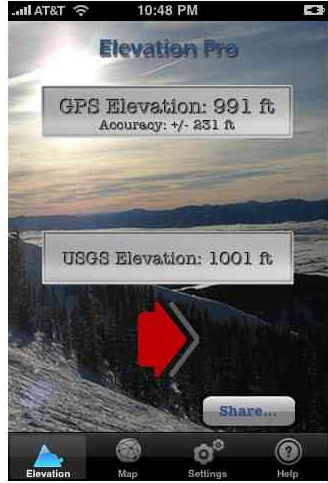 IPhone Apps You Can Use To Check Your Elevation Of Your - How to check elevation