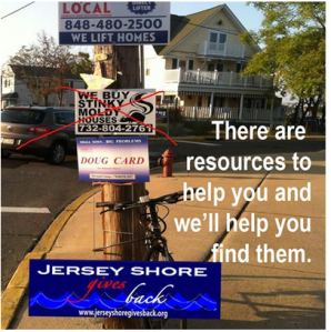 jersey shore gives back