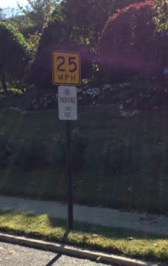 no parking on portland