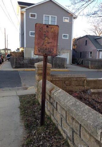rusty signs