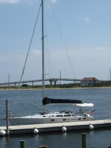Where the River Meets the Sea, Sandy Hook on Horizon